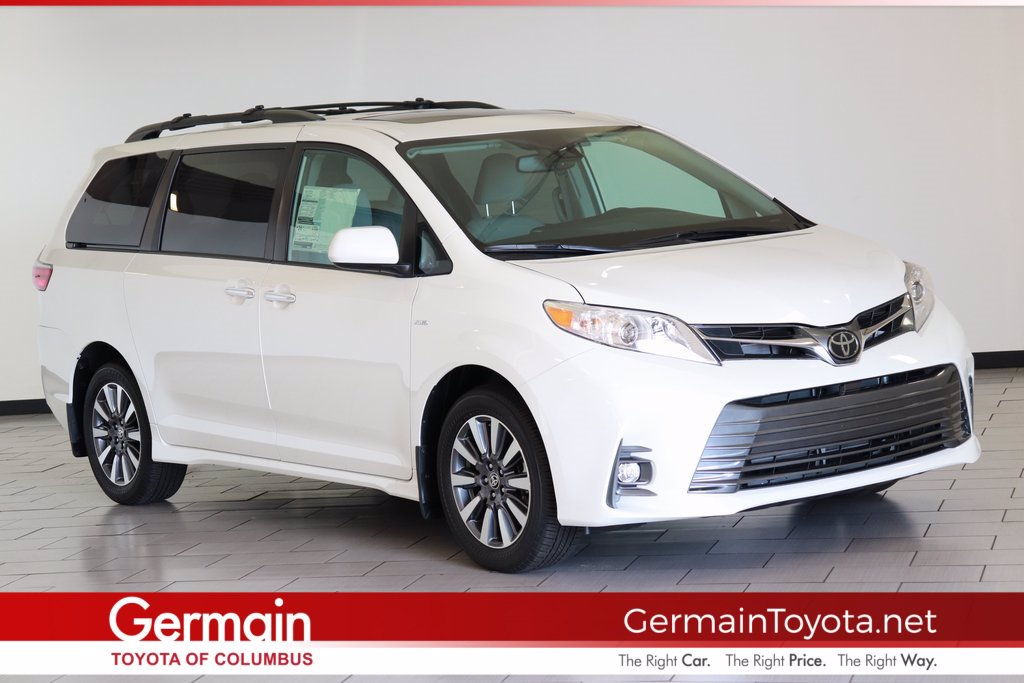 new 2020 toyota sienna xle mini van passenger in columbus 46901 germain toyota of columbus new 2020 toyota sienna xle awd
