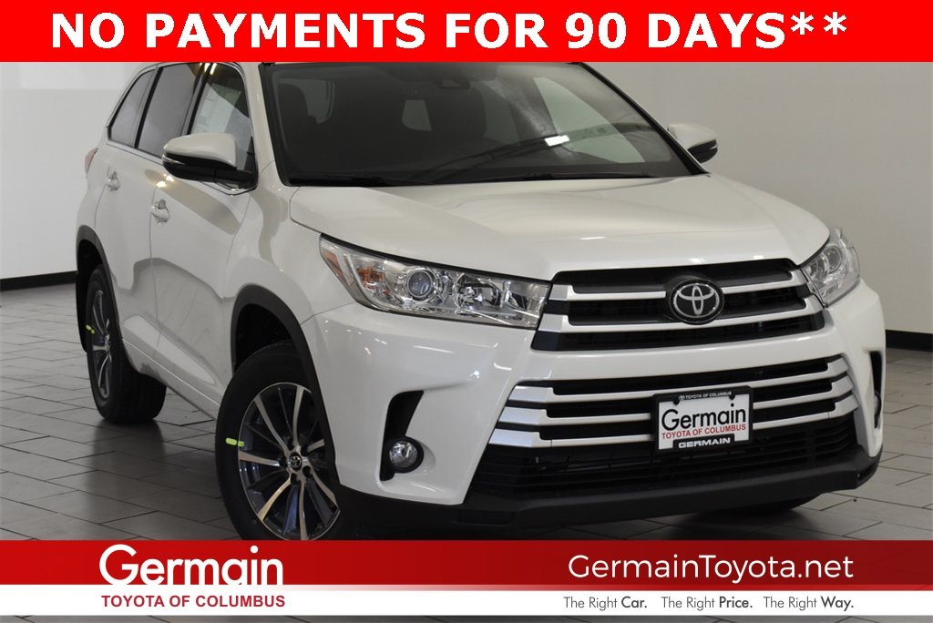 New 2019 Toyota Highlander Xle Sport Utility In Columbus 79169