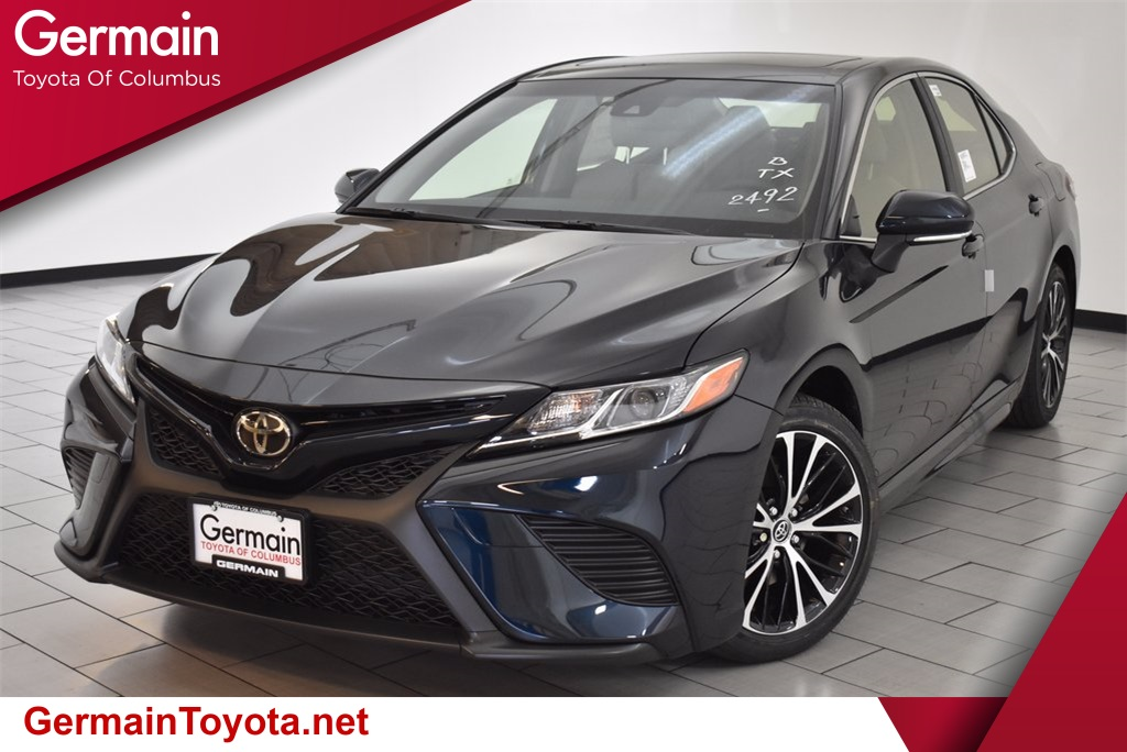 new 2018 toyota camry se 4d sedan in columbus 44990 germain toyota of columbus. Black Bedroom Furniture Sets. Home Design Ideas